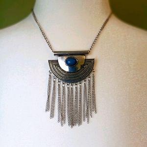 4/$15 Paparazzi necklace/blue stone